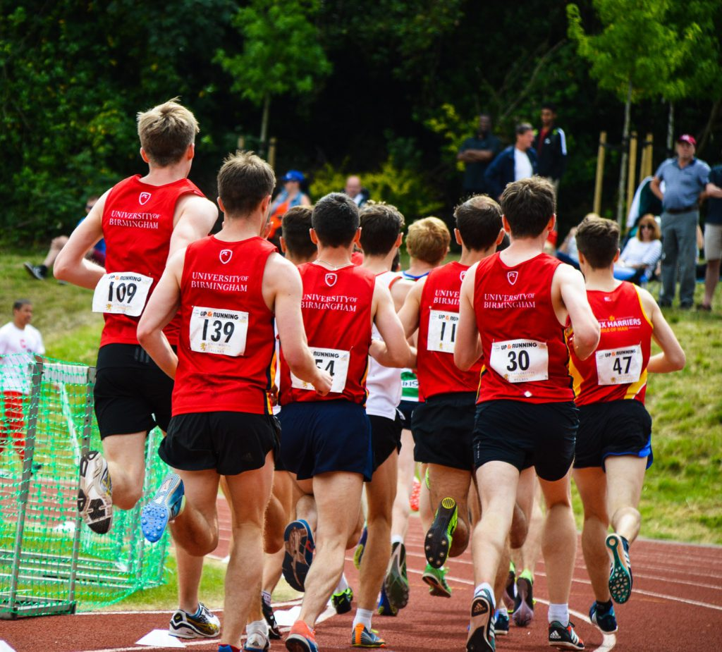 Athletics club Track Race