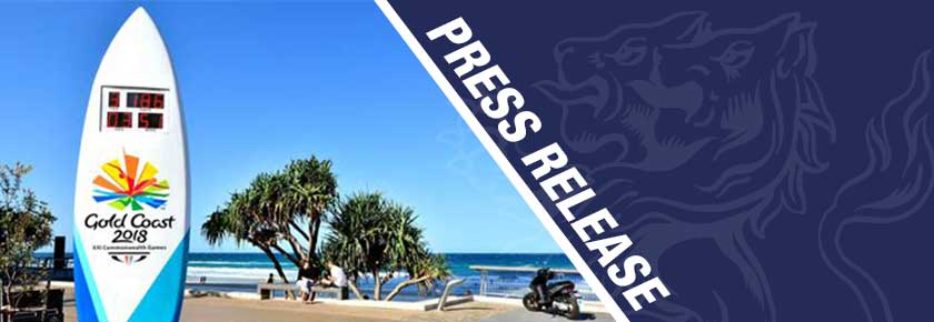 Press Release students and alumni selected for Gold Coast Commonwealth Games
