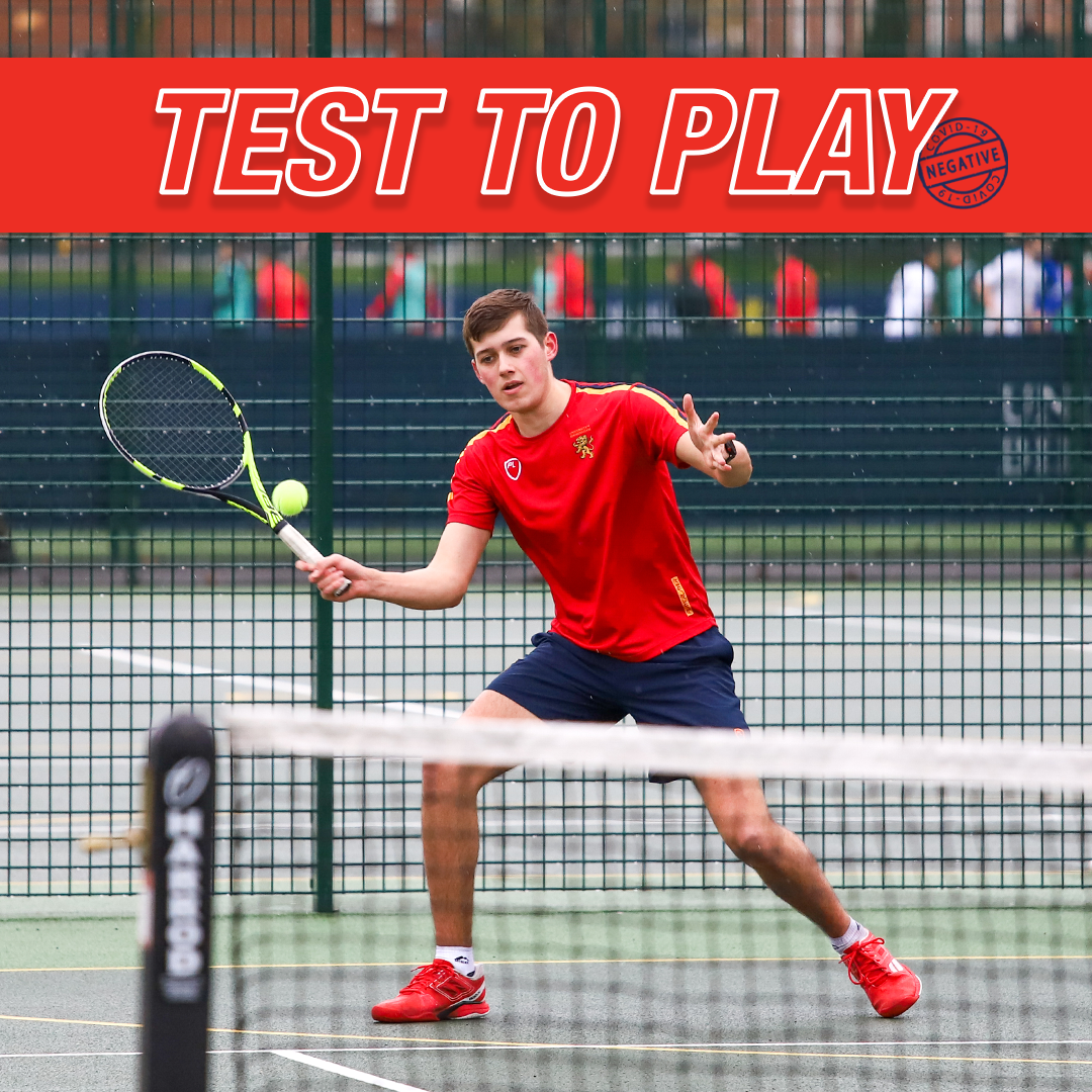 Test to Play tennis player