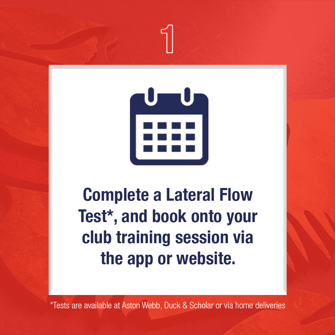 Complete a lateral flow test